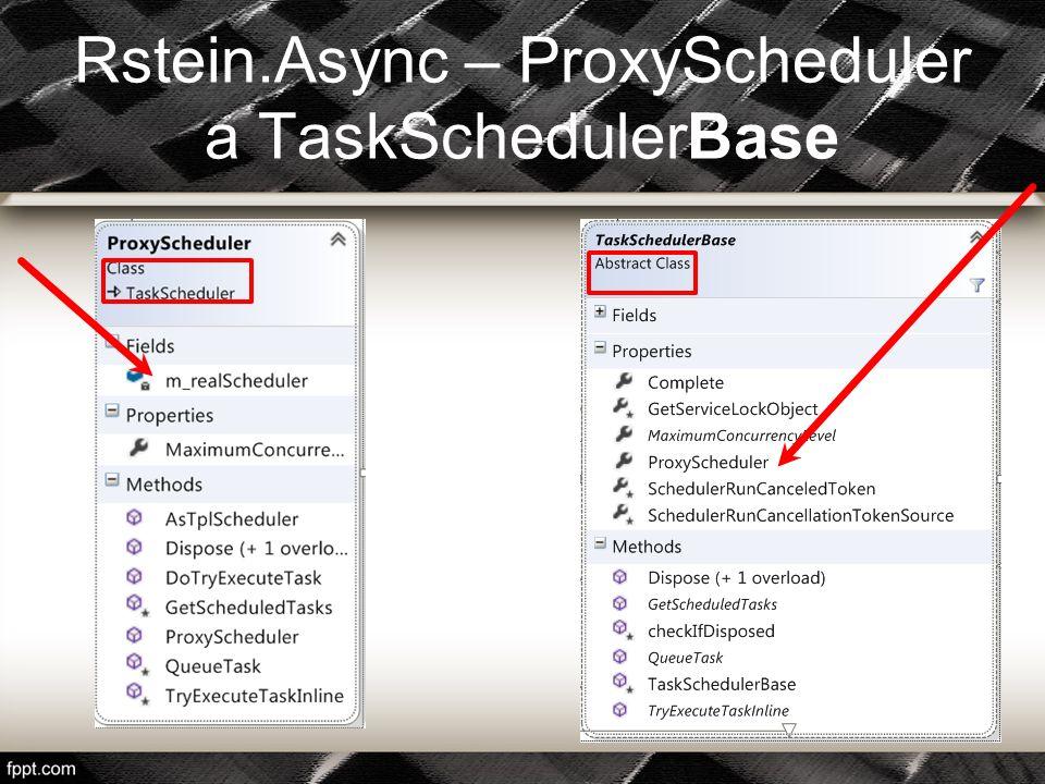 FallbackScheduler s pořadovým číslem 2 je sice stále nudný, ale už jej alespoň dokážeme napsat a používat bez vyvolání výjimky.