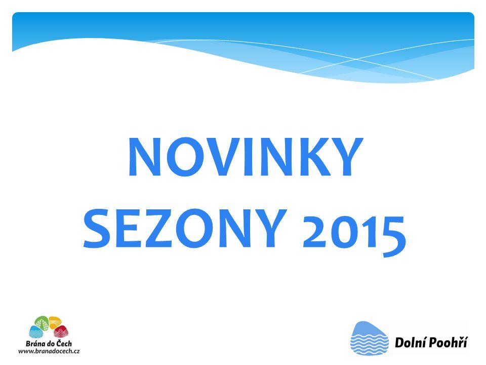 NOVINKY SEZONY 2015