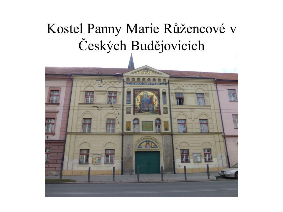 Kostel Panny Marie Růžencové v Českých Budějovicích