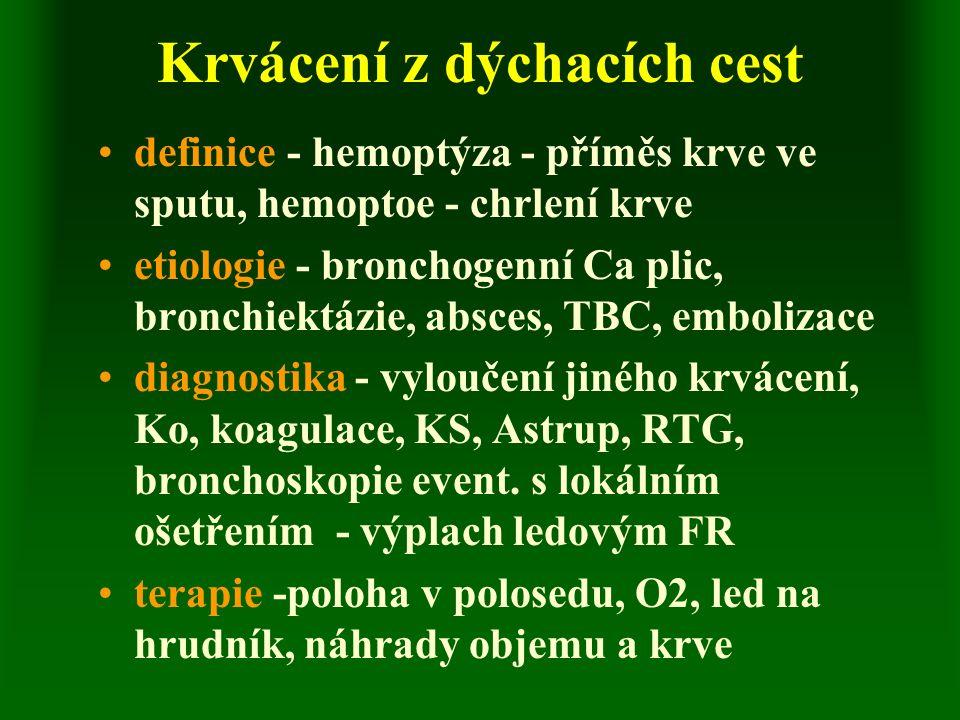 Pickwickův syndrom definice - respirační nedostatečnost při extrémní obezitě etiologie - mechanický účinek - vysoký stav bránic příznaky - trvalá únavnost, usínání během dne, noční spánek v polosedě, cyanózy, bolesti hlavy, závratě diagnostika - vzhled nemocného, krevní plyny léčba - redukce hmotnosti, dechová cvičení, aktivizace