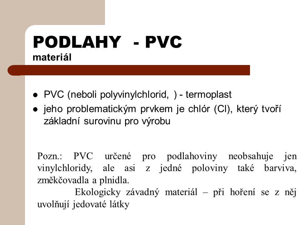 PODLAHY - PVC Ošetřování a údržba Po položení podlahové krytiny je nutné provést základní ošetření