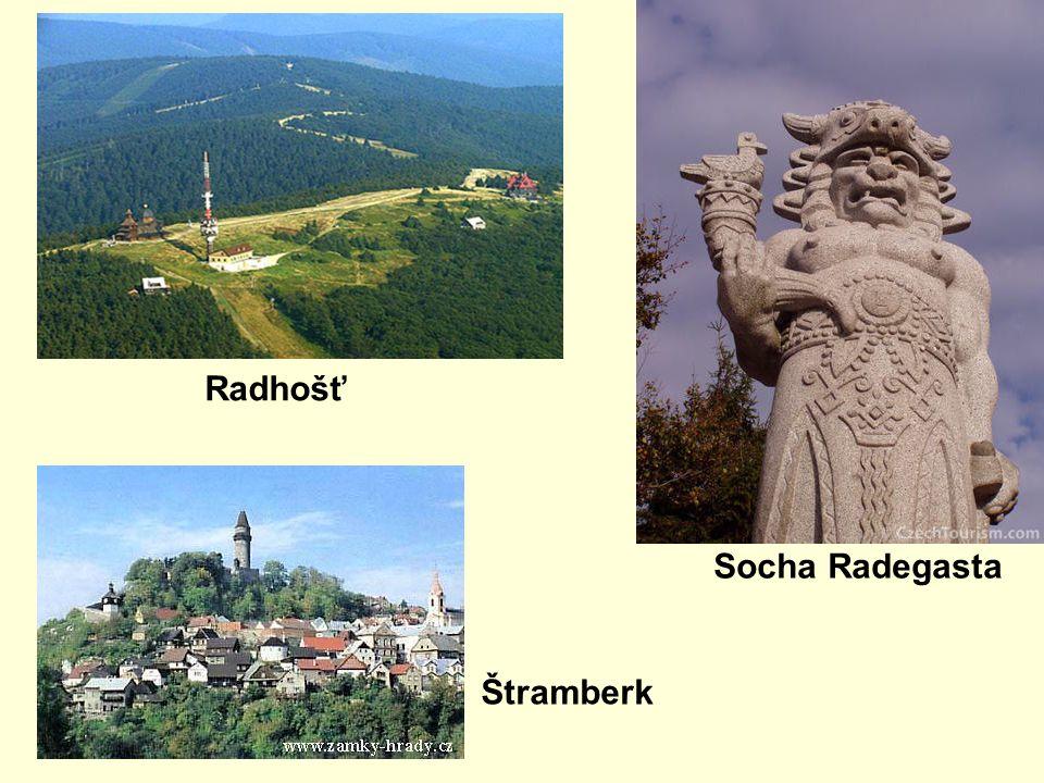 Radhošť Socha Radegasta Štramberk