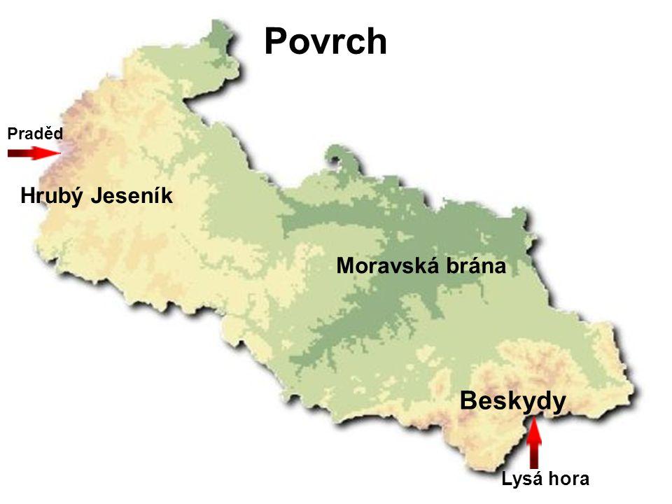Vodstvo Ostravice Odra Opava Moravice v.n.Slezská Harta v.n.