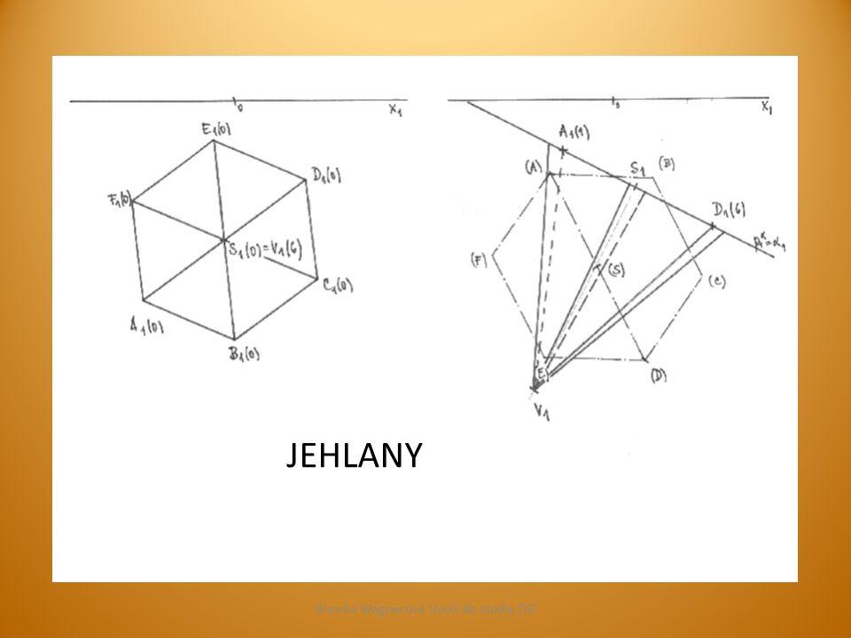 Podstava v rovině obecné Blan ka Wagnerová Úvod do studia DG Průmětem tělesa je mnohoúhelník.