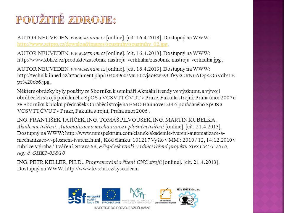 AUTOR NEUVEDEN. www.seznam.cz [online]. [cit. 16.4.2013].