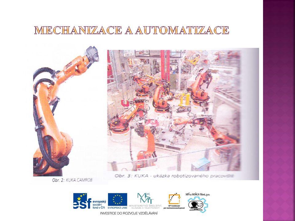 Automatizace ve svařovně
