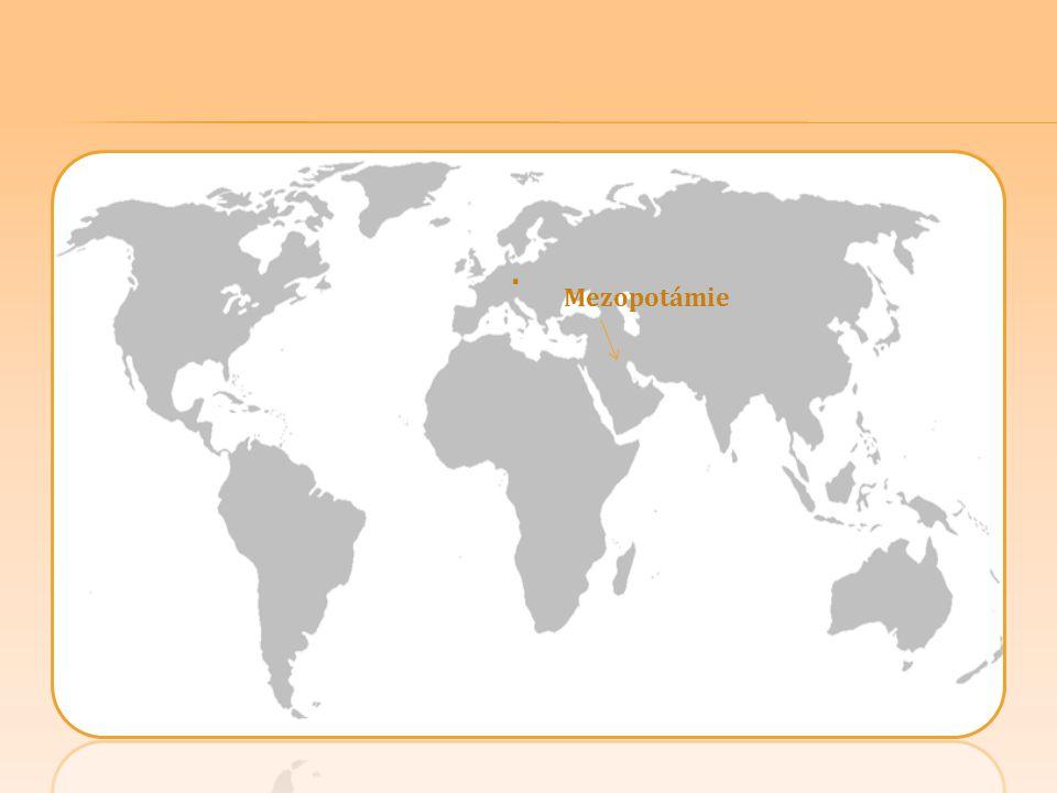 Mezopotámie.