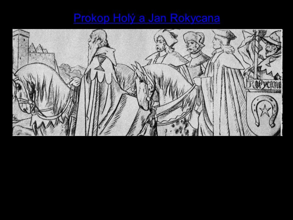9 Prokop Holý a Jan Rokycana Kdo jsou vyobrazení muži.