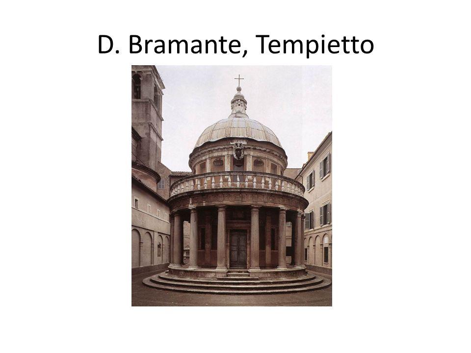 D. Bramante, Tempietto