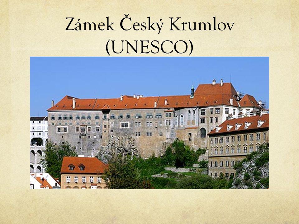 Zámek Č eský Krumlov (UNESCO)