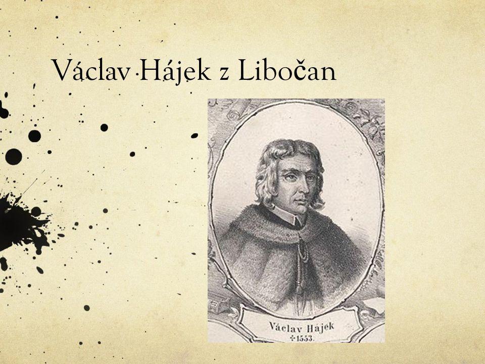 Václav Hájek z Libo č an