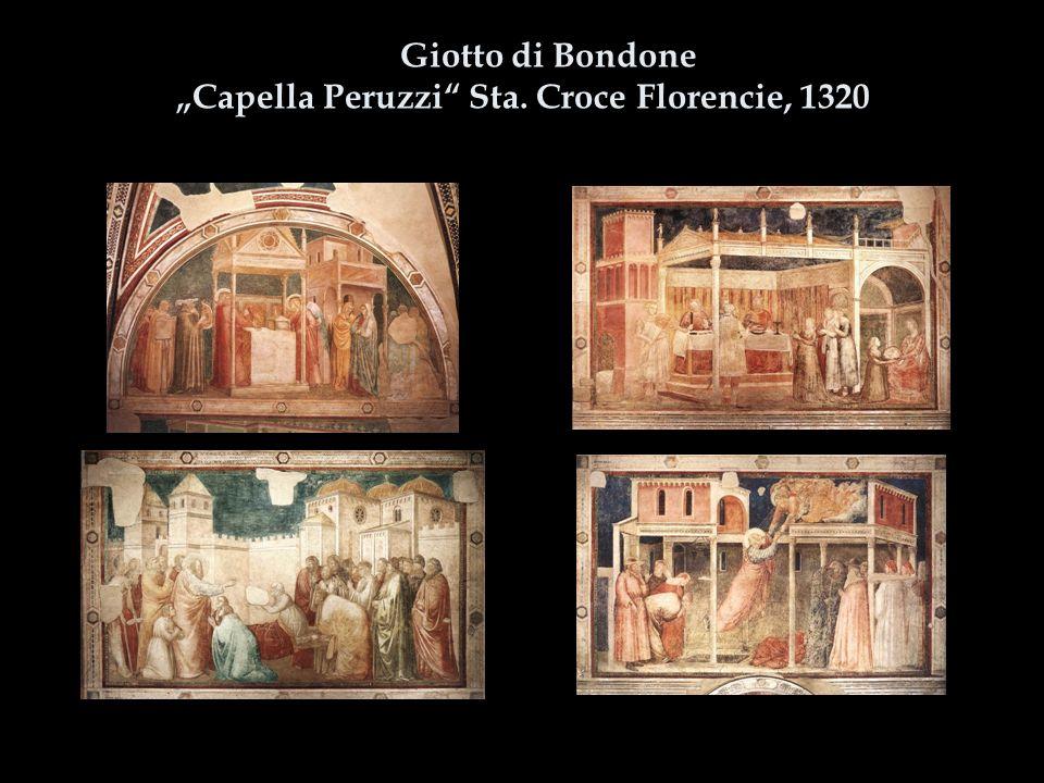 """Giotto di Bondone """"Capella Peruzzi"""" Sta. Croce Florencie, 1320"""
