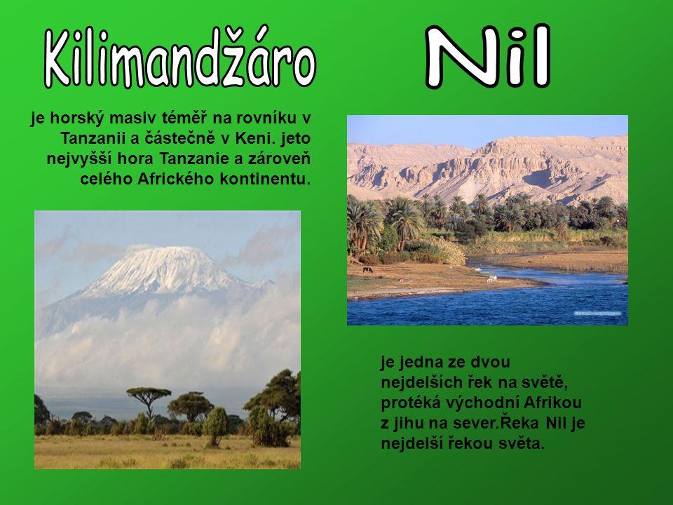 je horský masiv téměř na rovníku v Tanzanii a částečně v Keni.