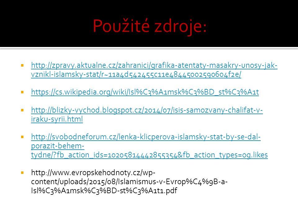  http://zpravy.aktualne.cz/zahranici/grafika-atentaty-masakry-unosy-jak- vznikl-islamsky-stat/r~11a4d542455c11e48445002590604f2e/ http://zpravy.aktua