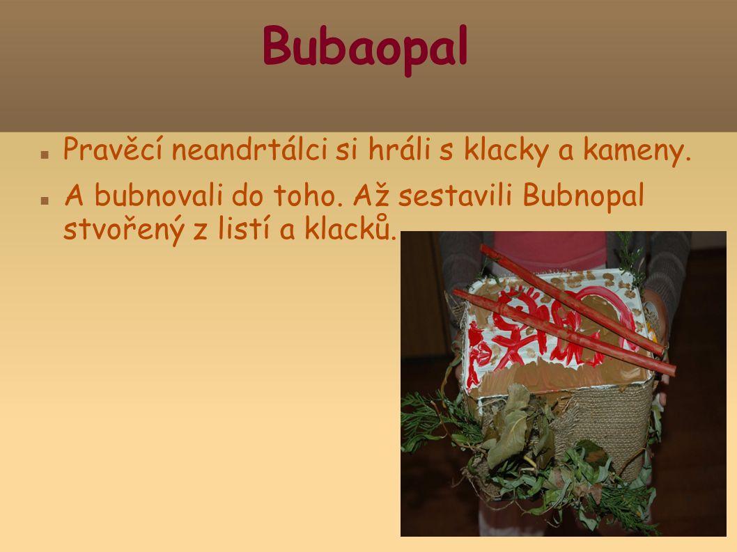 Bubaopal Pravěcí neandrtálci si hráli s klacky a kameny.