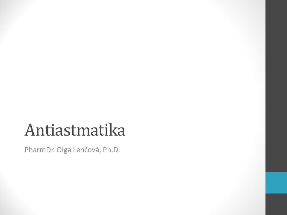 """Astma bronchiale Astma – z řeckého aazein – """"ostrý dech Chronické zánětlivé onemocnění dýchacích cest vznik na podkladě genetické predispozice a/nebo faktorů zevního prostředí opakované reverzibilní obstrukce dýchacích cest (astmatické záchvaty), které samy o sobě neovlivňují osoby, které astma nemají → ↑ reaktivita bronchů → bronchiální obstrukce 5 % dospělých, 10 % dětí hlavními buňkami alergického zánětu: Th2-lymfocyty, eozinofily a mastocyty méně se uplatňují neutrofily a bazofily"""
