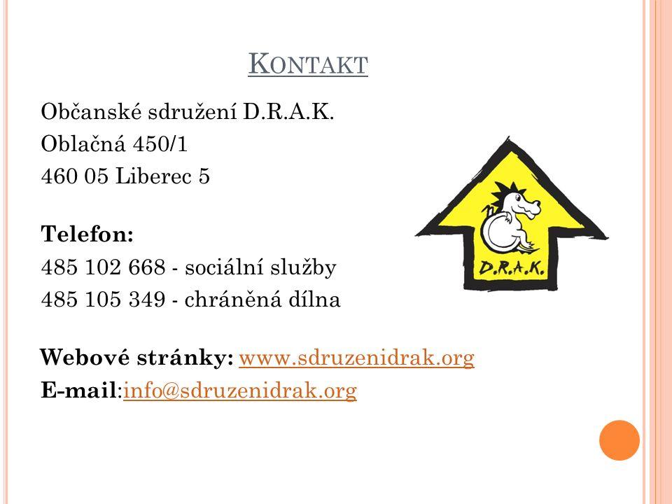 K ONTAKT Občanské sdružení D.R.A.K.