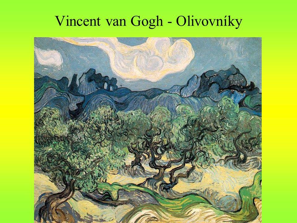 Vincent van Gogh - Olivovníky