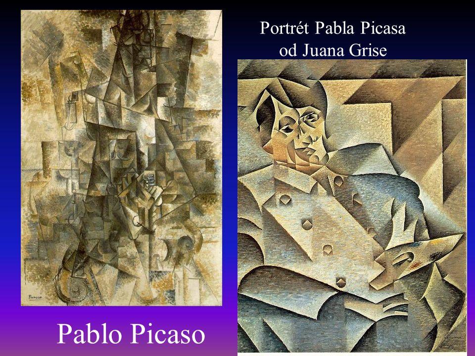 Pablo Picaso Portrét Pabla Picasa od Juana Grise