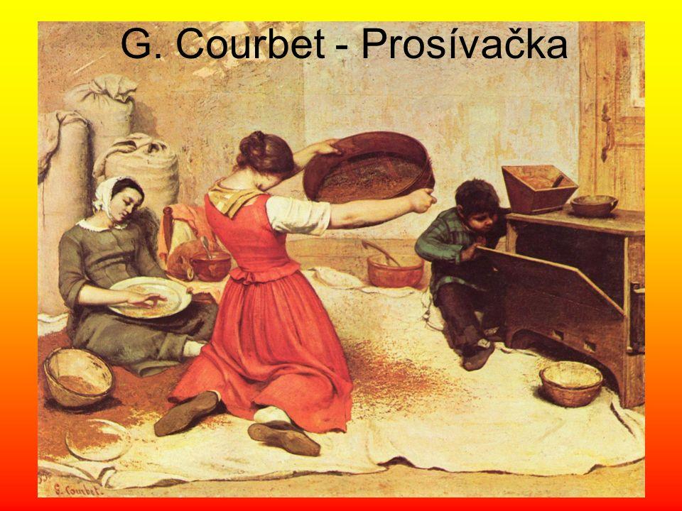 G. Courbet - Prosívačka