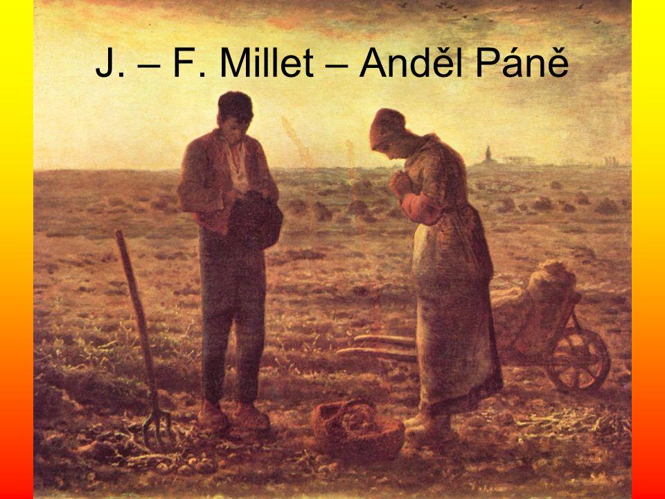 J. – F. Millet – Anděl Páně