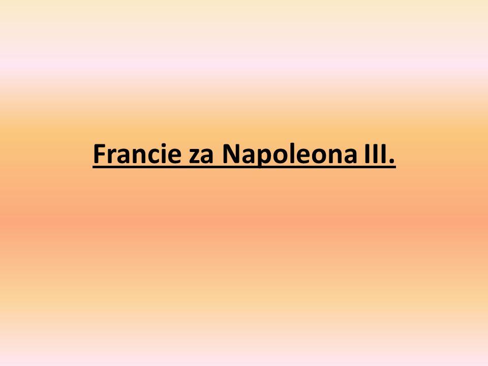 Francie za Napoleona III.