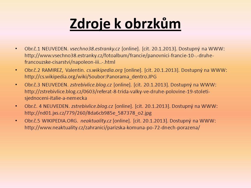 Zdroje k obrzkům Obr.č.1 NEUVEDEN. vsechno38.estranky.cz [online]. [cit. 20.1.2013]. Dostupný na WWW: http://www.vsechno38.estranky.cz/fotoalbum/franc