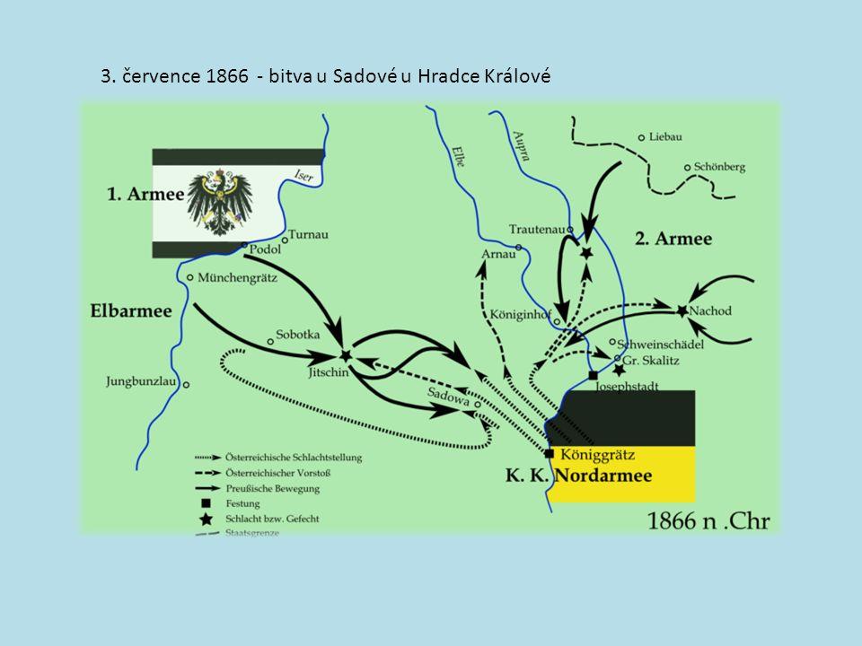 - bitva u Sadové u Hradce Králové3. července 1866