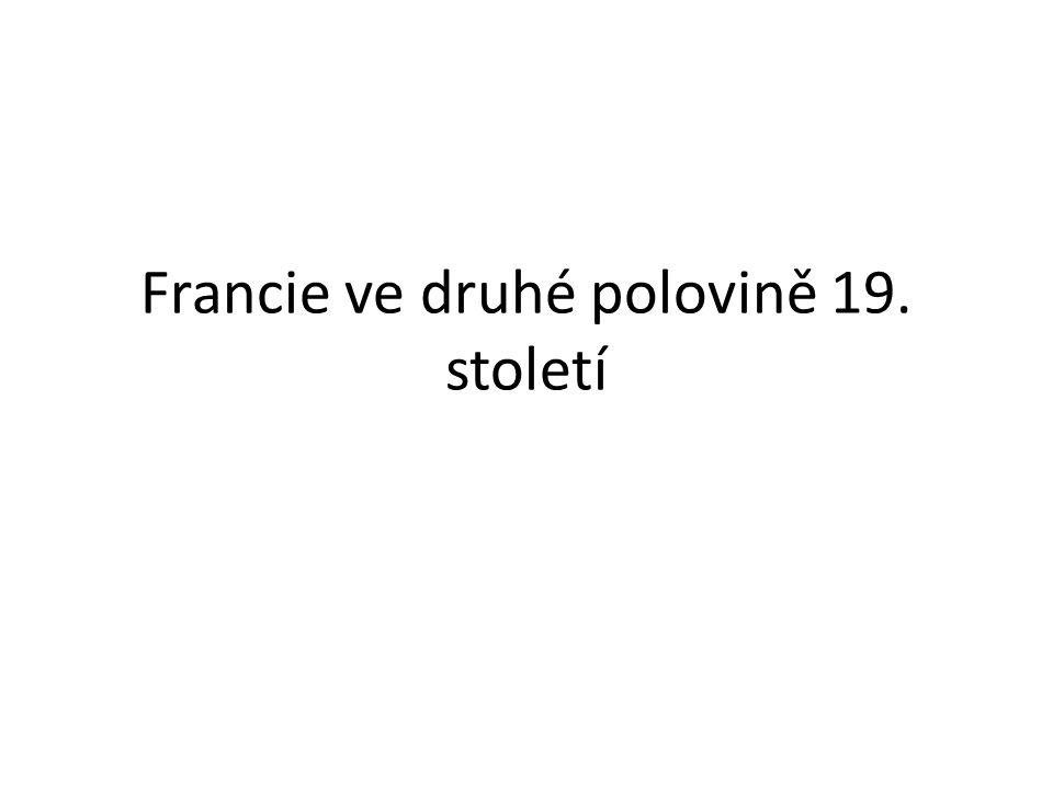 Francie ve druhé polovině 19. století