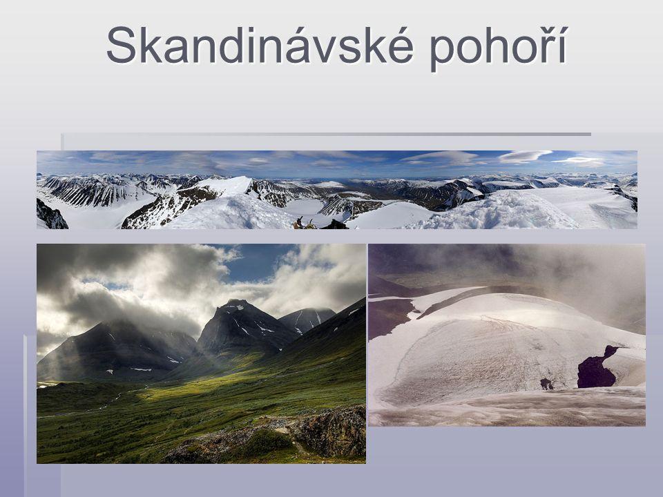 Skandinávské pohoří