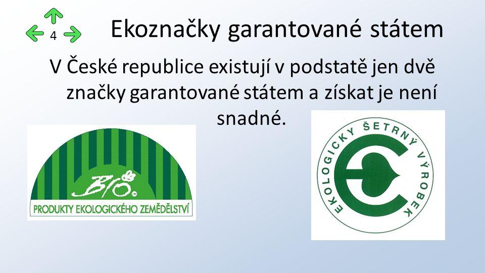 """značce se někdy říká """"biozebra národní značka biopotravin ČR propůjčuje ji Ministerstvo zemědělství ČR Produkt ekologického zemědělství 5"""