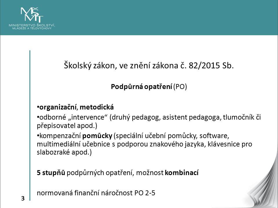 3 Školský zákon, ve znění zákona č. 82/2015 Sb.