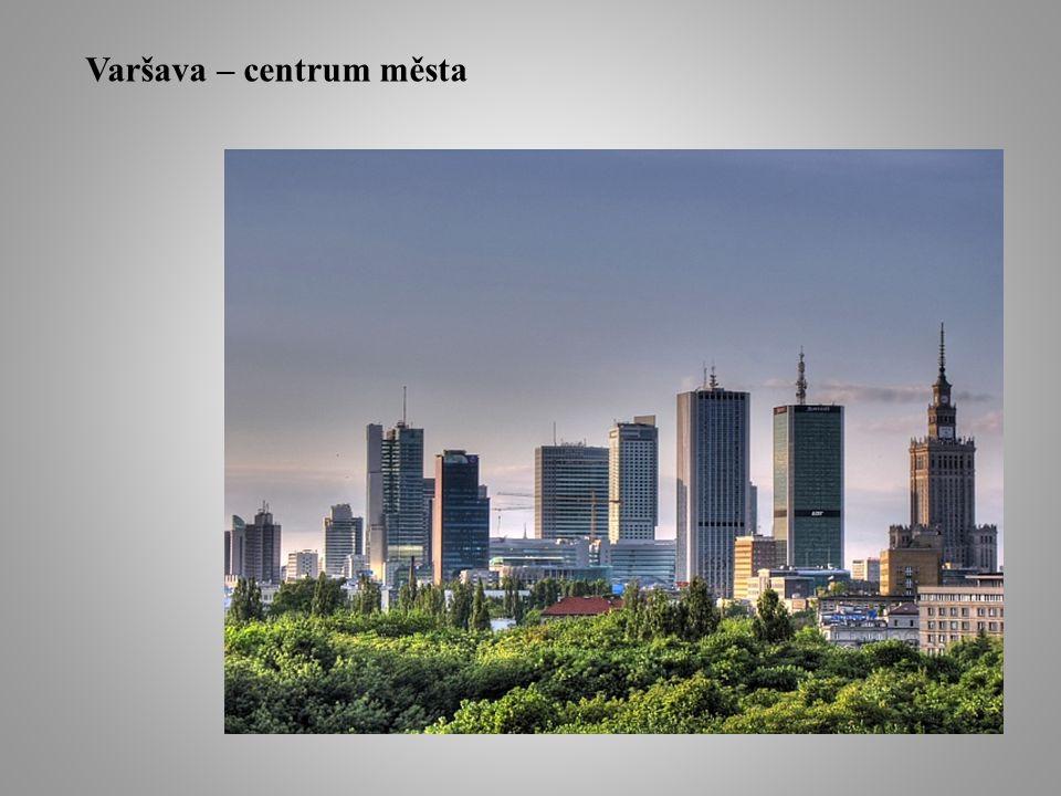Varšava – centrum města