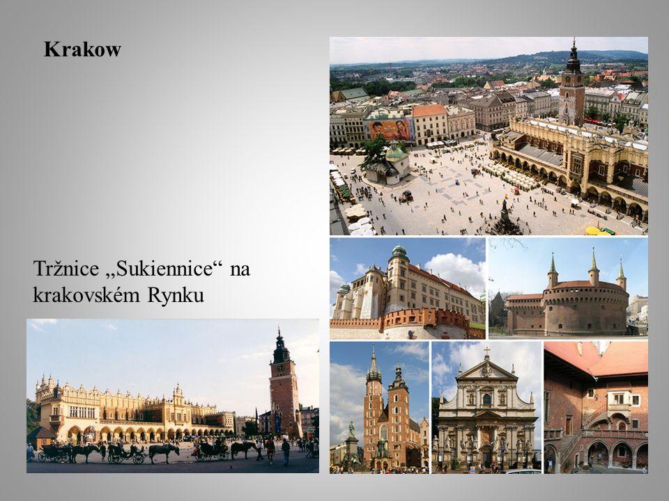 "Tržnice ""Sukiennice na krakovském Rynku Krakow"