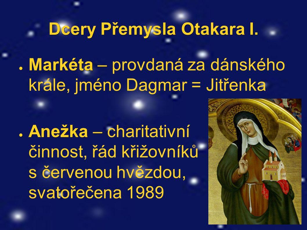 Dcery Přemysla Otakara I.