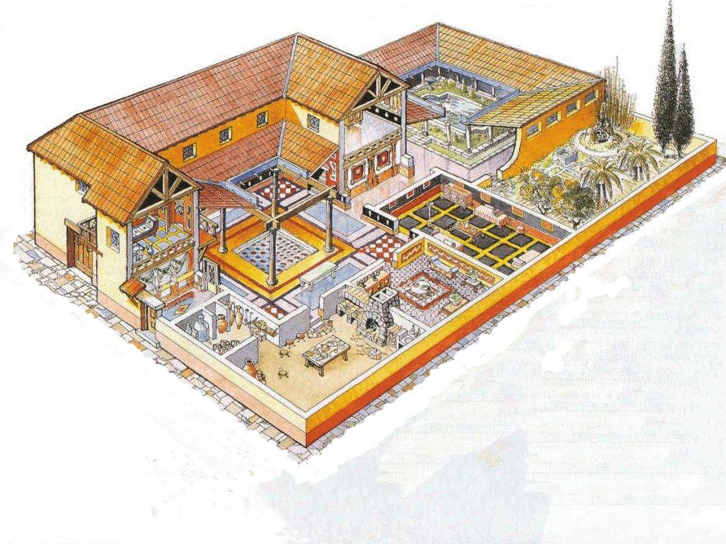 Vybavení domácnosti Původně prosté a spíše praktičtější, než-li estetické Později se dbalo na estetičnost kvůli hostům.