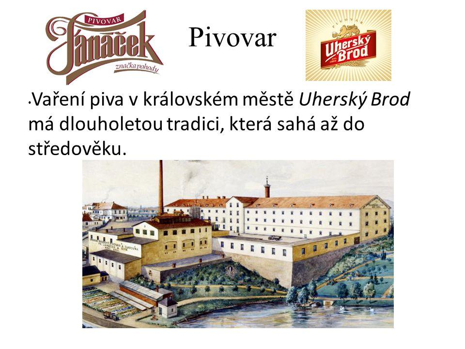 Pivovar Vaření piva v královském městě Uherský Brod má dlouholetou tradici, která sahá až do středověku.