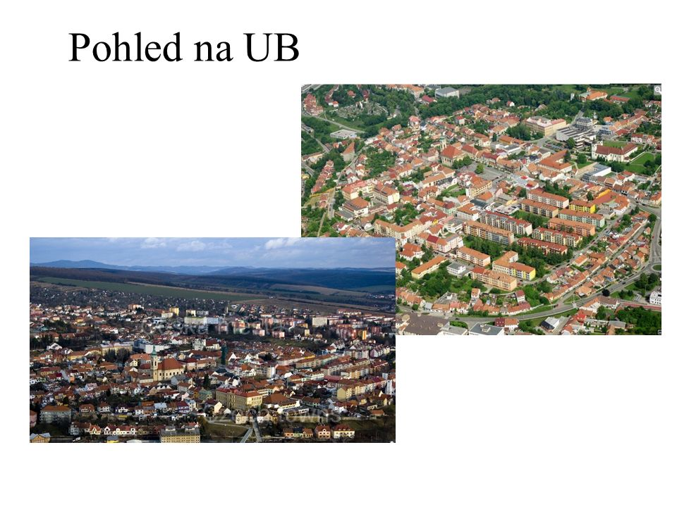 Pohled na UB