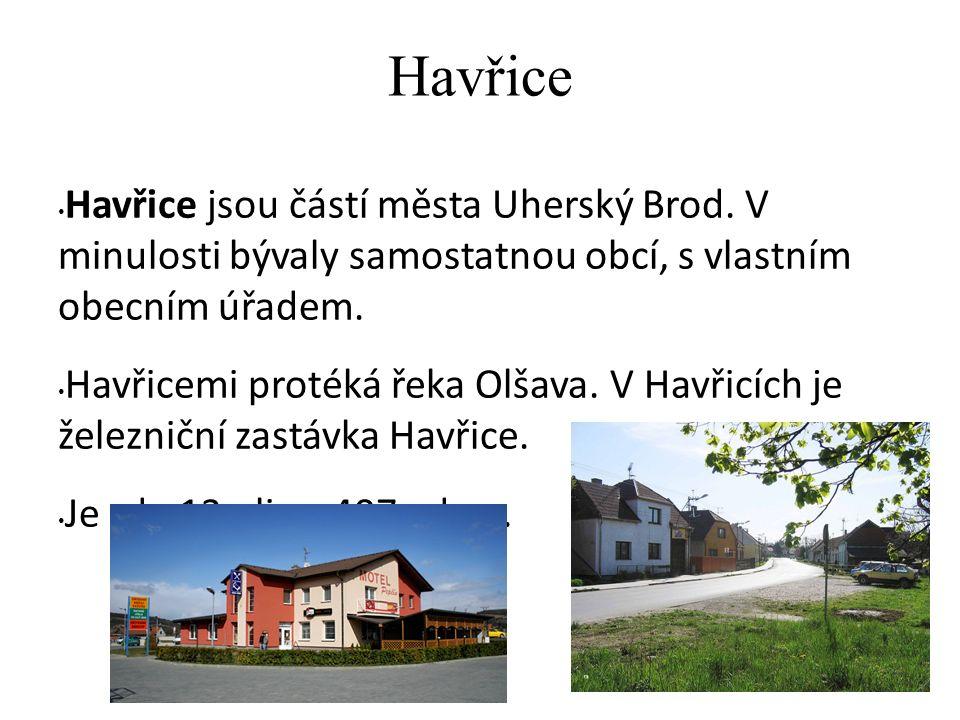 Újezdec Újezdec je místní část města Uherský Brod v okrese Uherské Hradiště.
