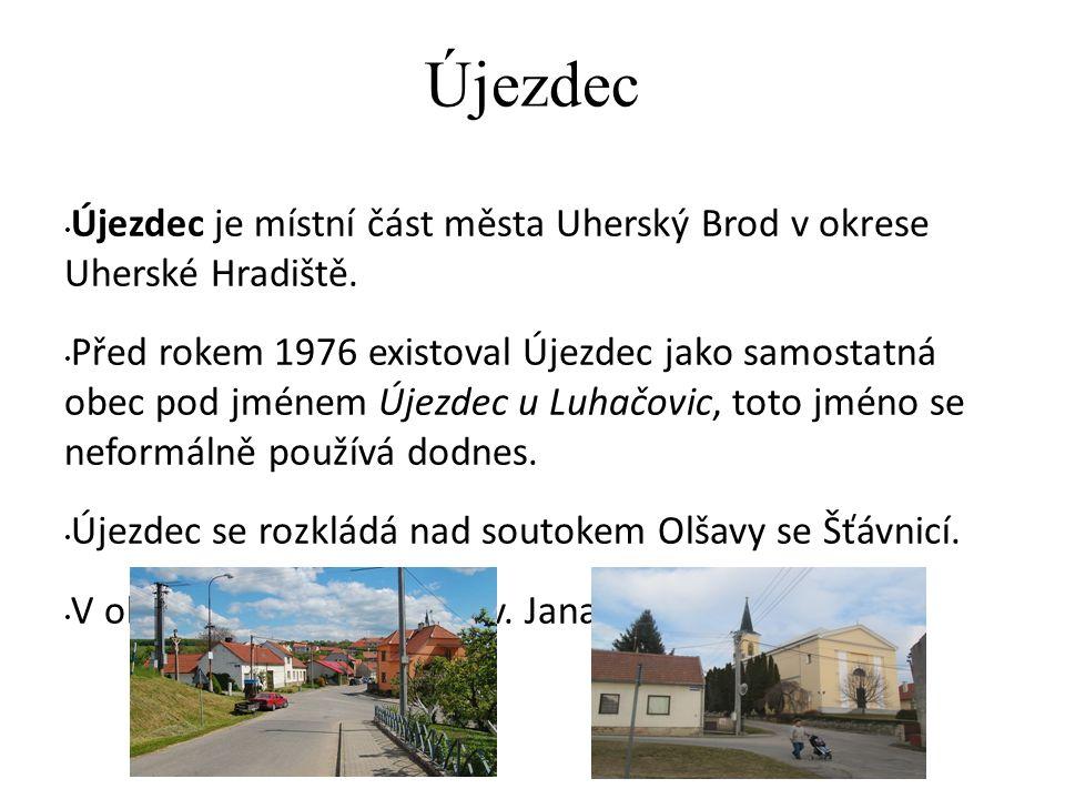 Těšov Těšov je část města Uherský Brod.