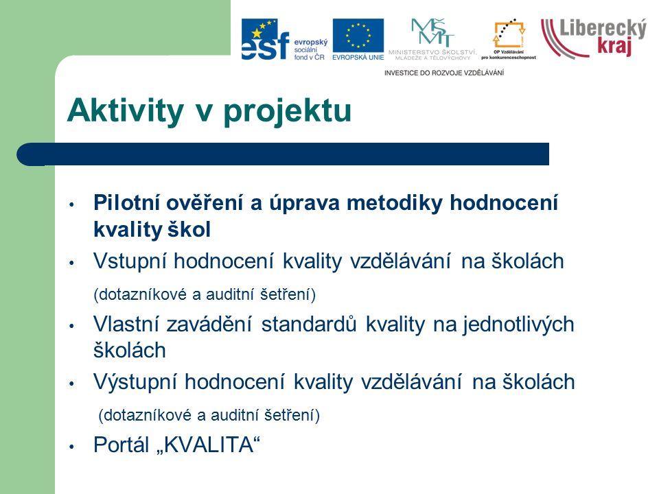 Informace o průběhu Klíčová aktivita č.1 a č.