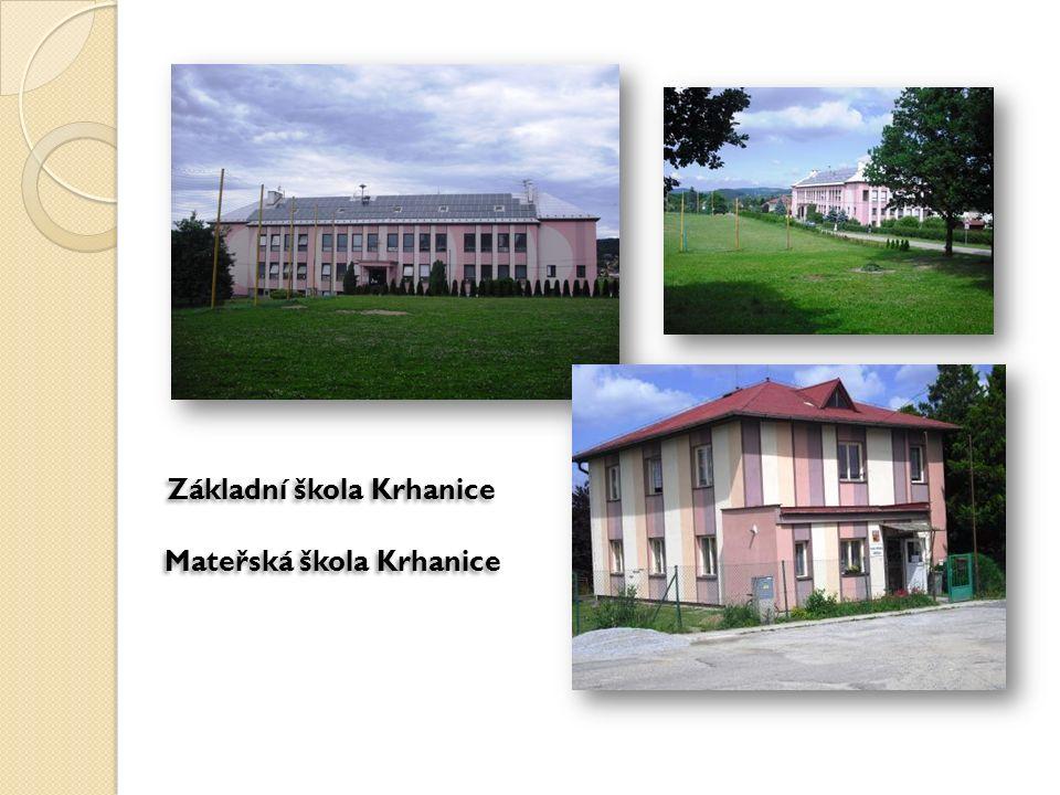 Základní škola Krhanice Mateřská škola Krhanice