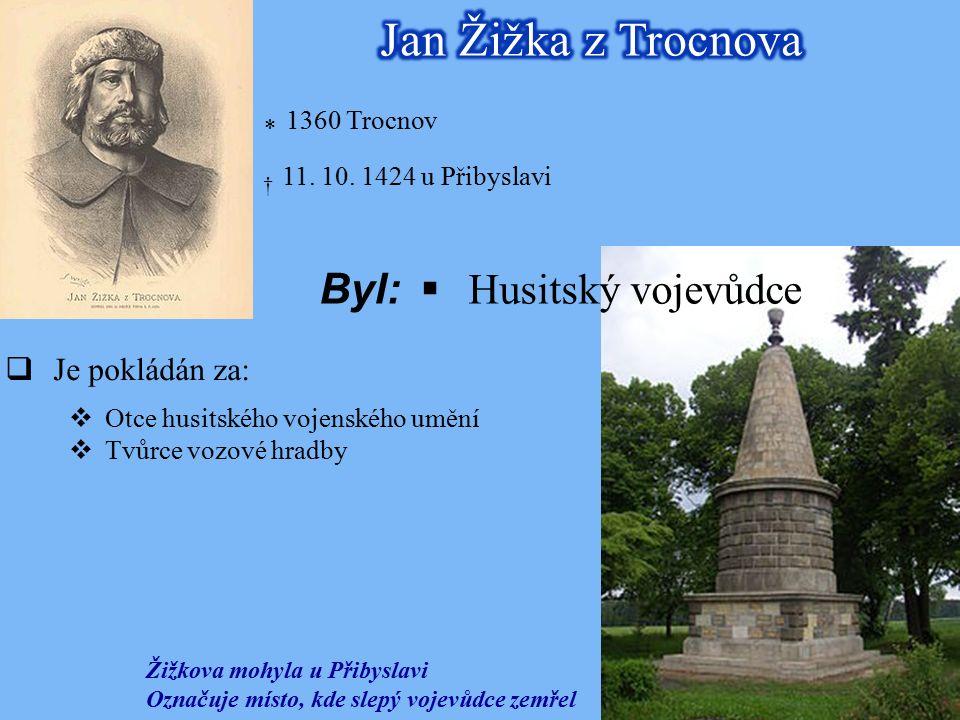 * 1360 Trocnov † 11. 10.