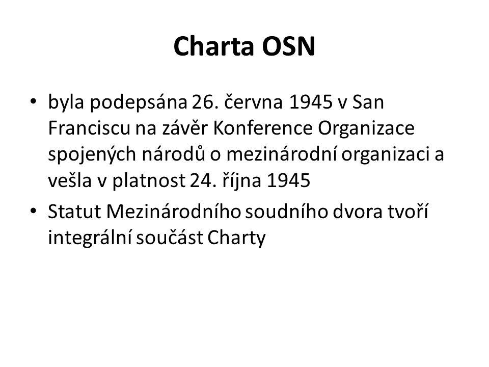 Charta OSN byla podepsána 26.