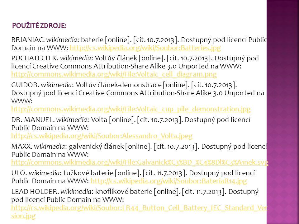 BRIANIAC. wikimedia: baterie [online]. [cit. 10.7.2013].