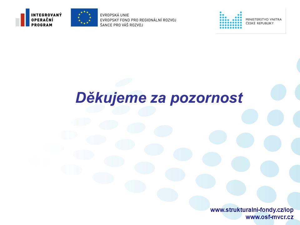 www.strukturalni-fondy.cz/iop www.osf-mvcr.cz Děkujeme za pozornost