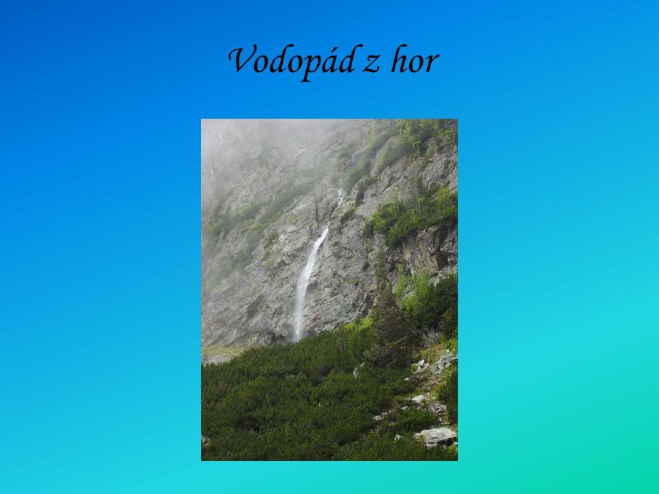 Vodopád z hor