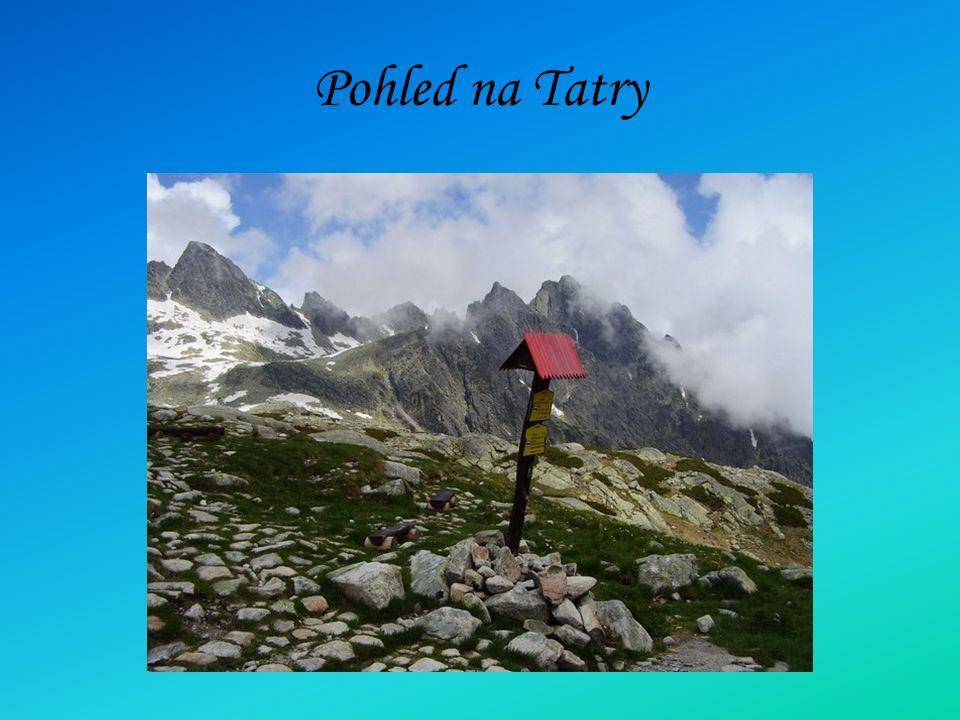Pohled na Tatry