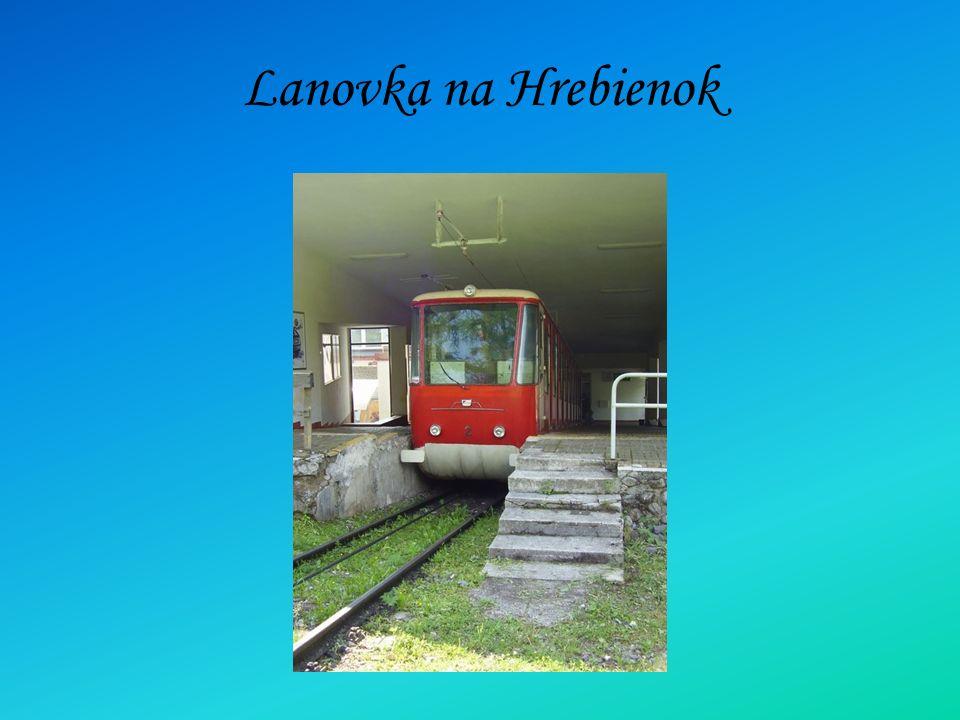 Lanovka na Hrebienok