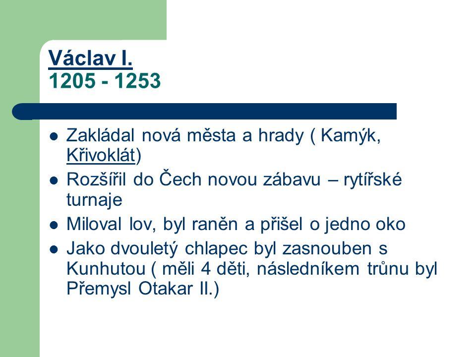 Václav I. Václav I.